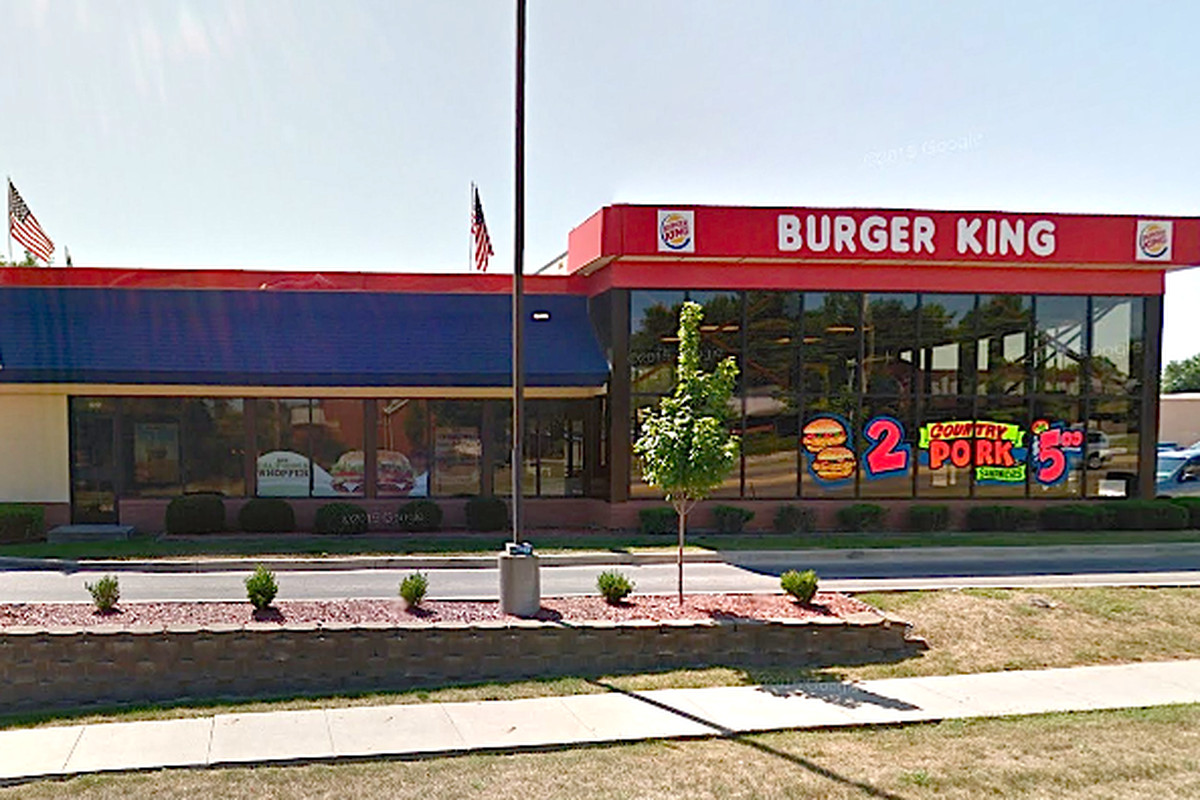 The Burger King location at 2565 E. Euclid Ave. in Des Moines, Iowa