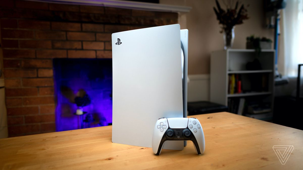 PS5 in photos: our first look at Sony's next-gen console - The Verge