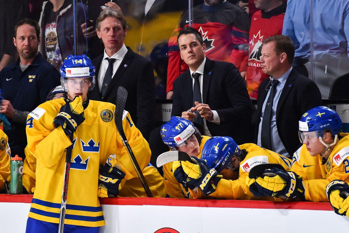 2018 World Junior Hockey Championship Team Sweden Preview Roster