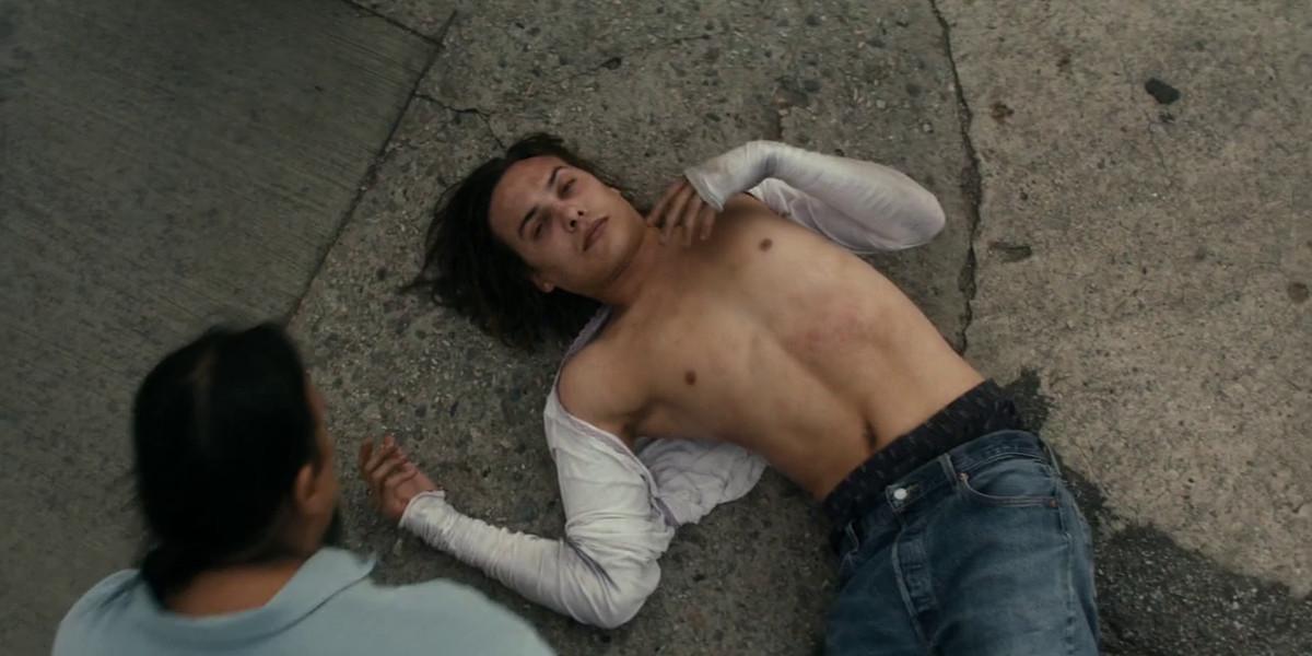 Nick gets hit by a car in Fear the Walking Dead.