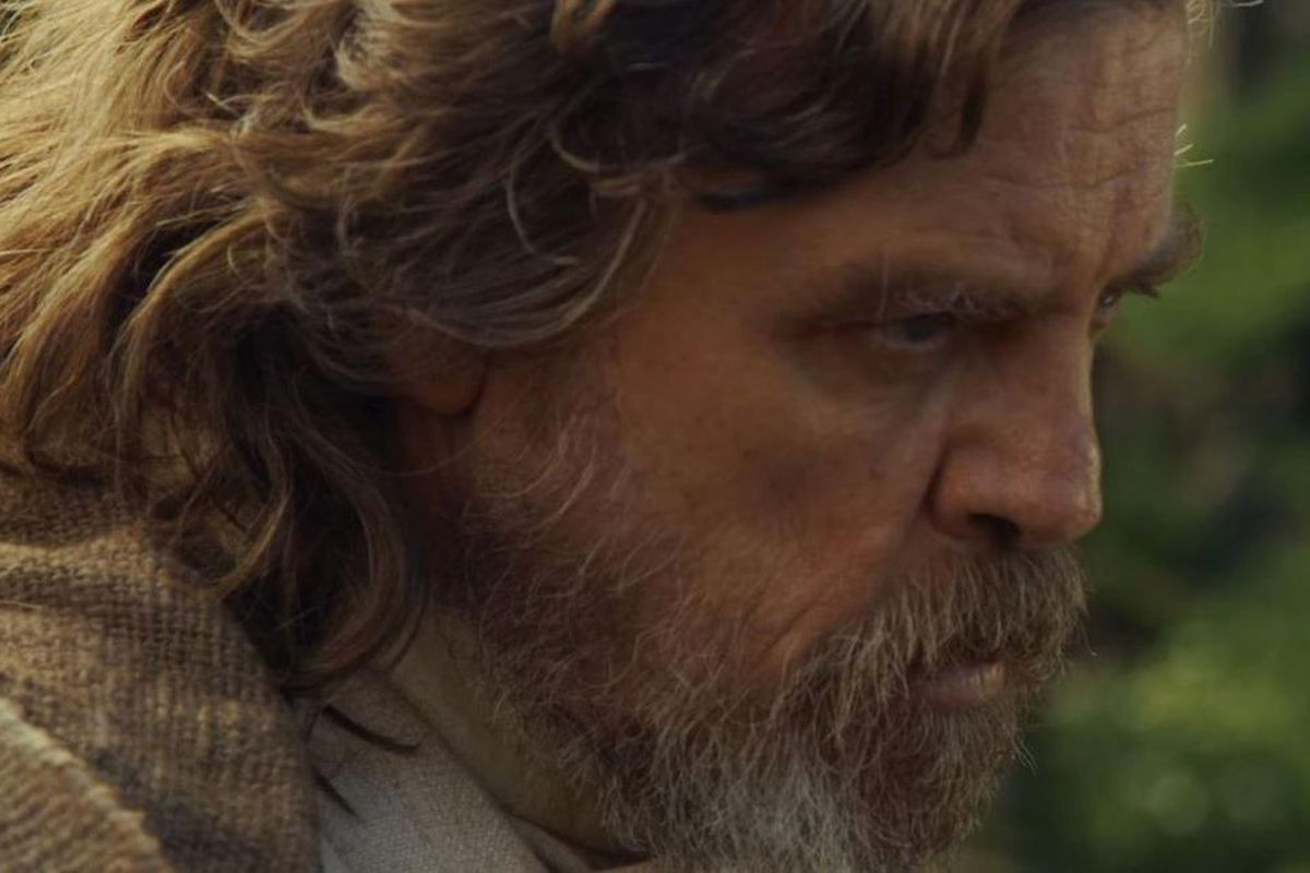 """Mark Hamill in """"Star Wars: Episode VIII - The Last Jedi."""" He recently joked about Ewoks and 'Return of the Jedi.'"""