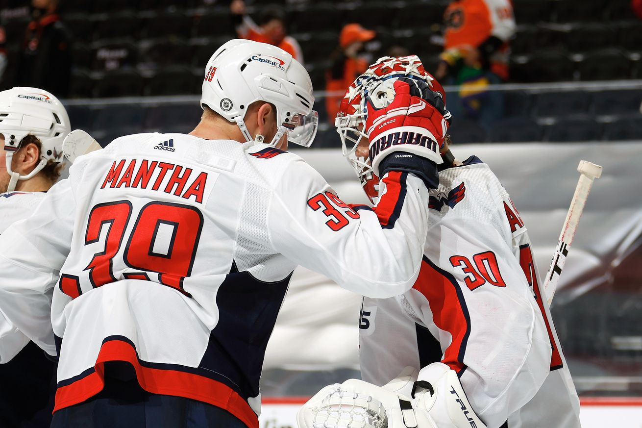 Washington Capitals v Philadelphia Flyers