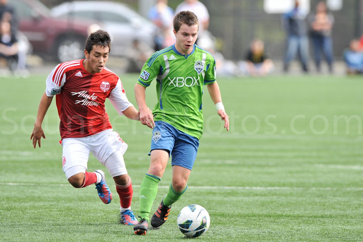 Ike Crook versus the Portland Timbers Academy