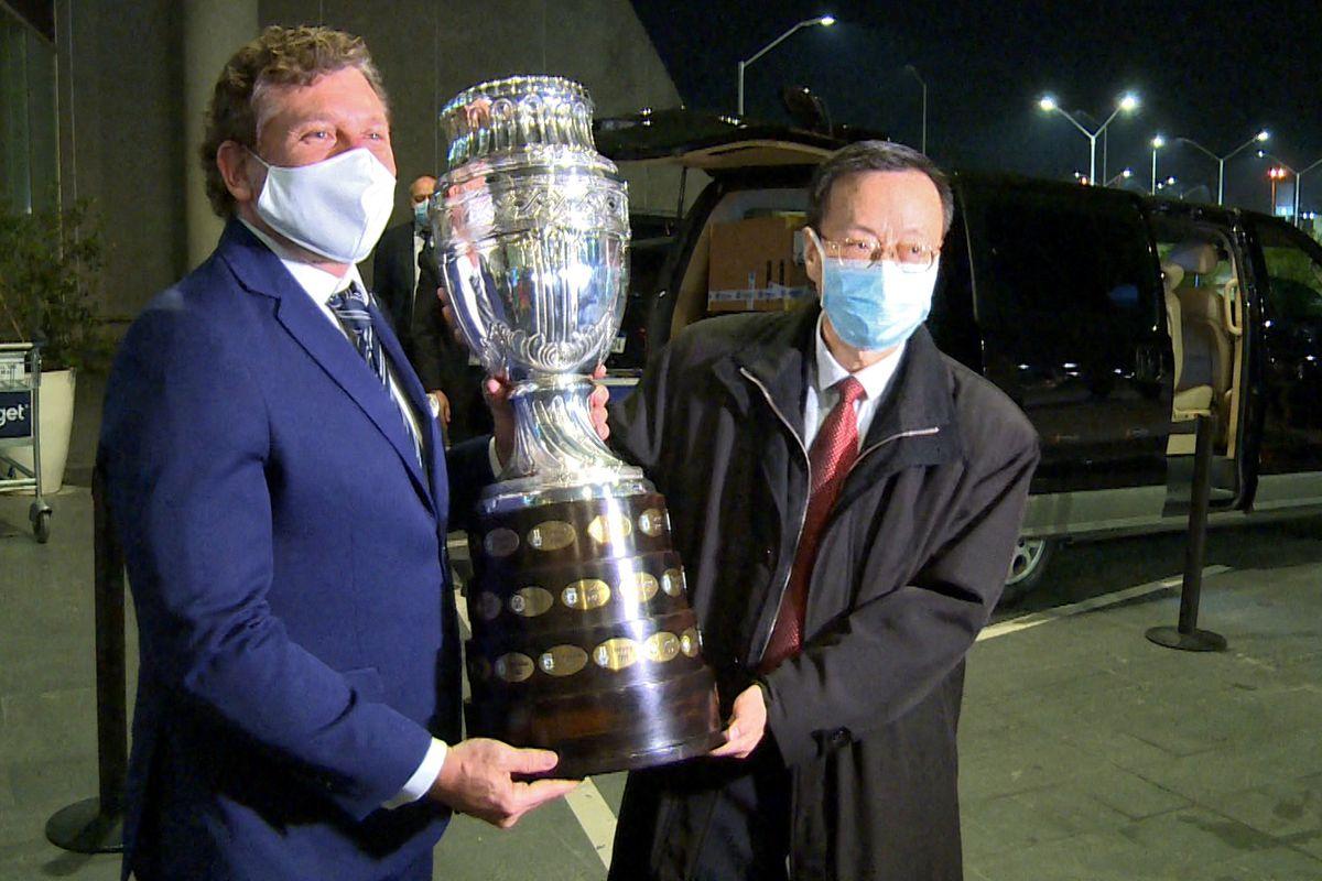 FBL-URUGUAY-HEALTH-VIRUS-VACCINES-CONMEBOL