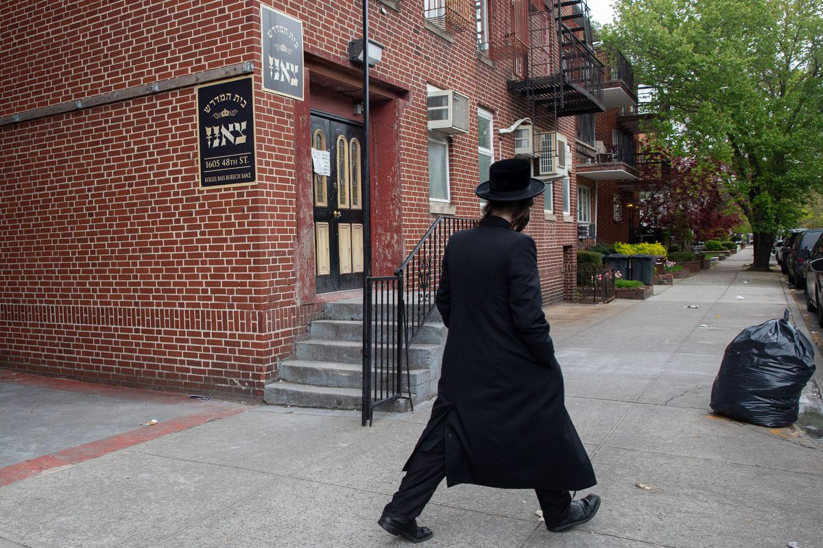 Borough Park parents said a yeshiva was still being run out of a building on 48th Street during the coronavirus outbreak.