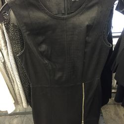 Leather dress, $500 (was $2,500)