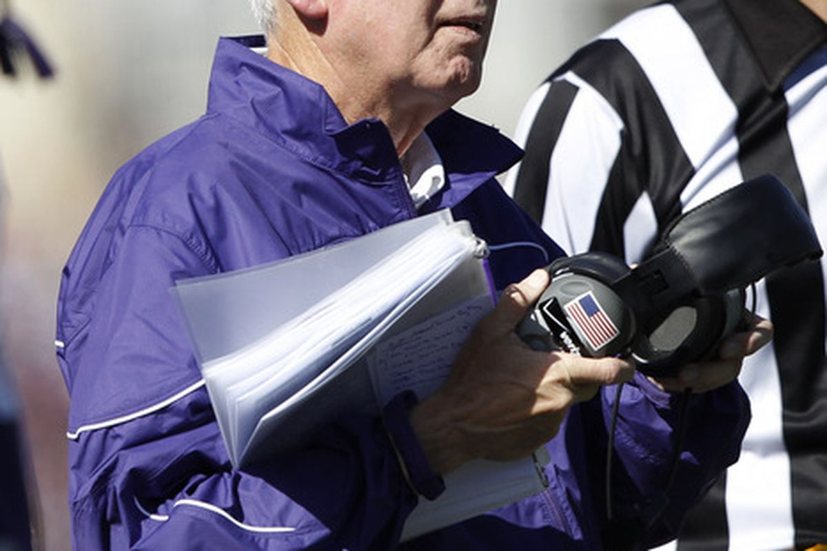 Bill Snyder's Kansas State football team, rated #8 by the BCS, has a critical game this weekend against Oklahoma.