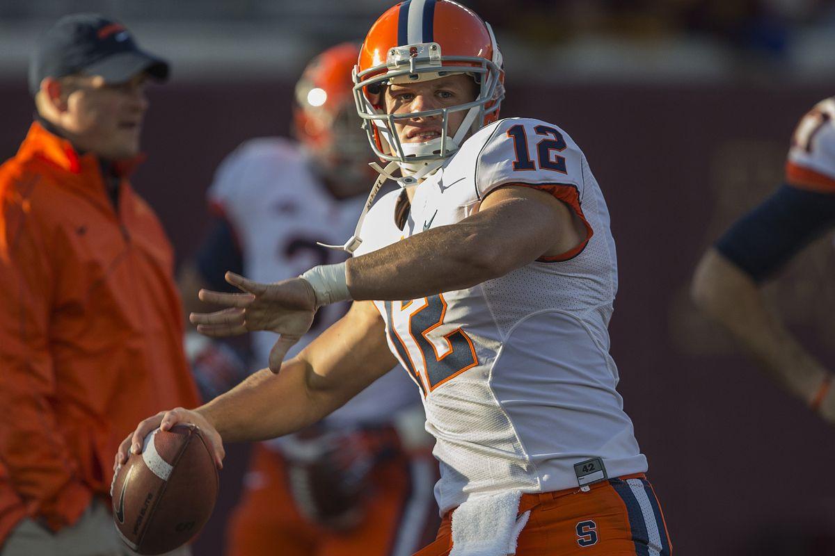 Syracuse quarterback Ryan Nassib.