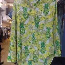 Equipment silk blouse, $50