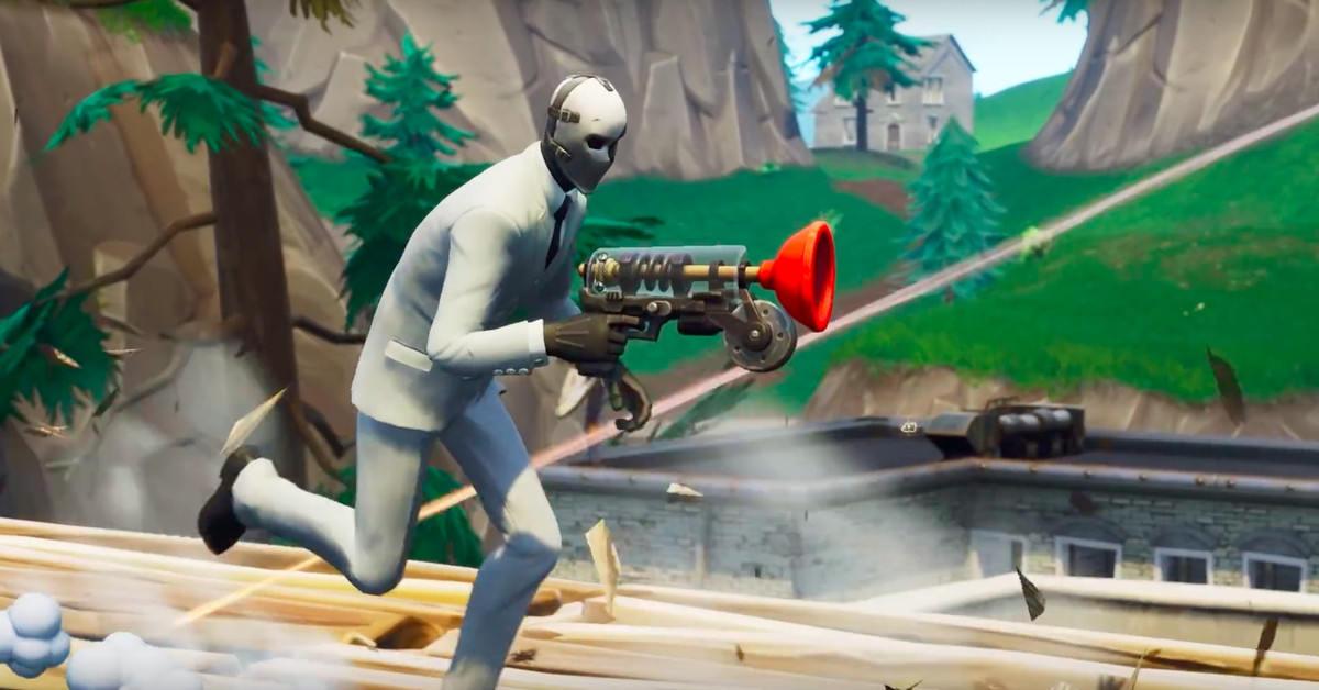 Fortnite S New Grappler Weapon Gives Players Game Changing