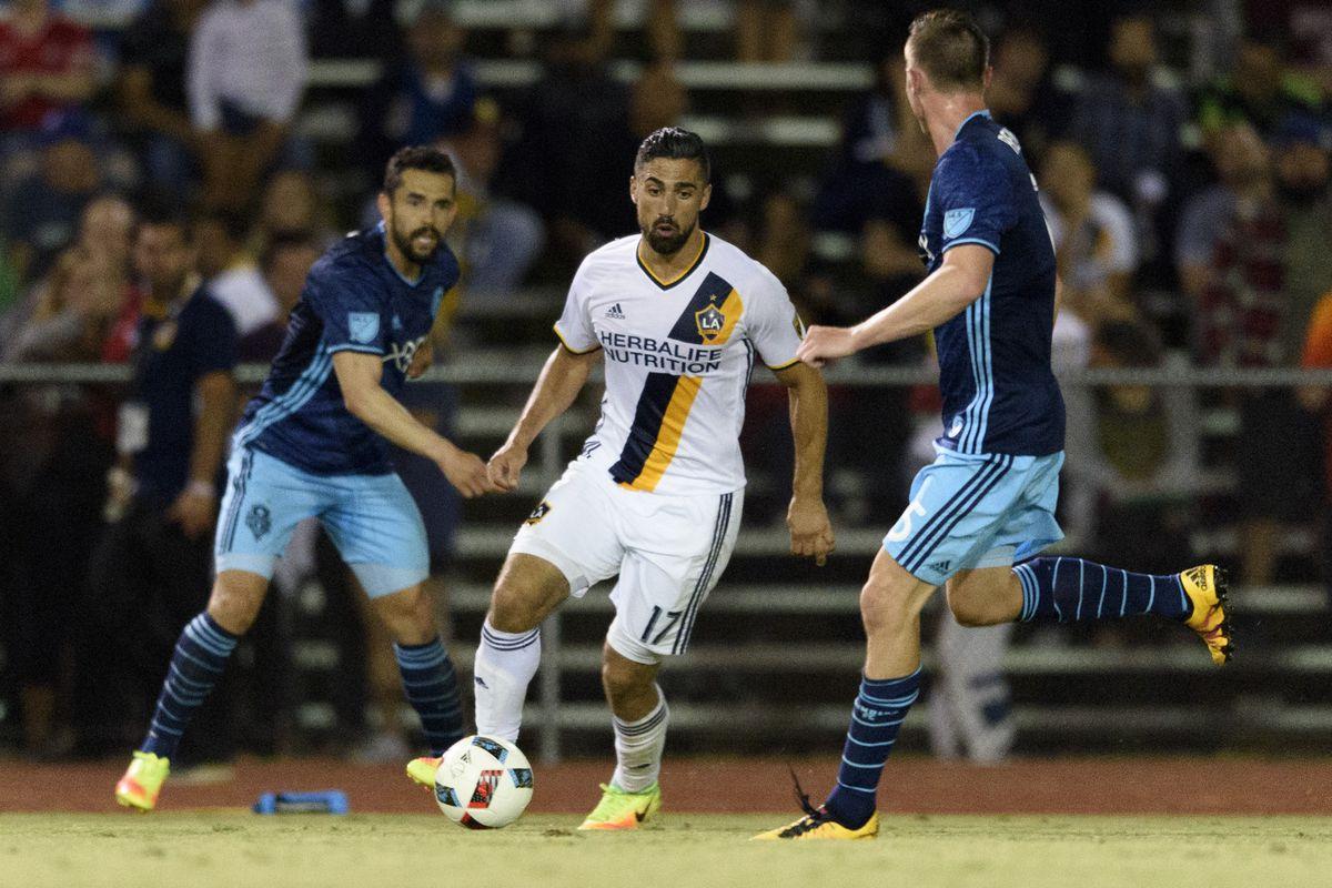 MLS: U.S. Open Cup Quarterfinal-Seattle Sounders FC at LA Galaxy