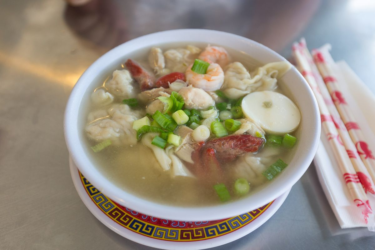 China Cafe Wonton Soup
