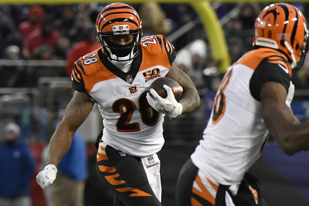 sports shoes 39740 508b9 Bengals rookie report: Joe Mixon returns with a vengeance ...