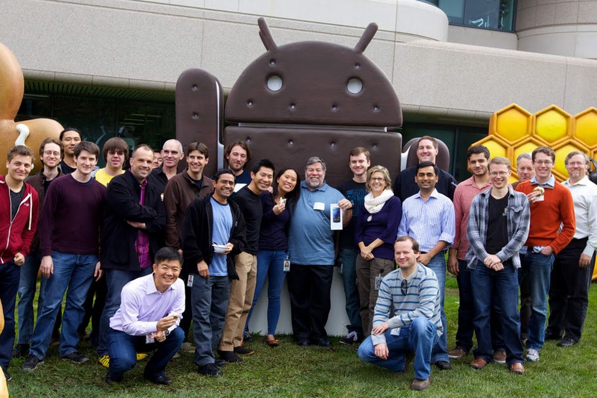 Woz Galaxy Nexus Googleplex