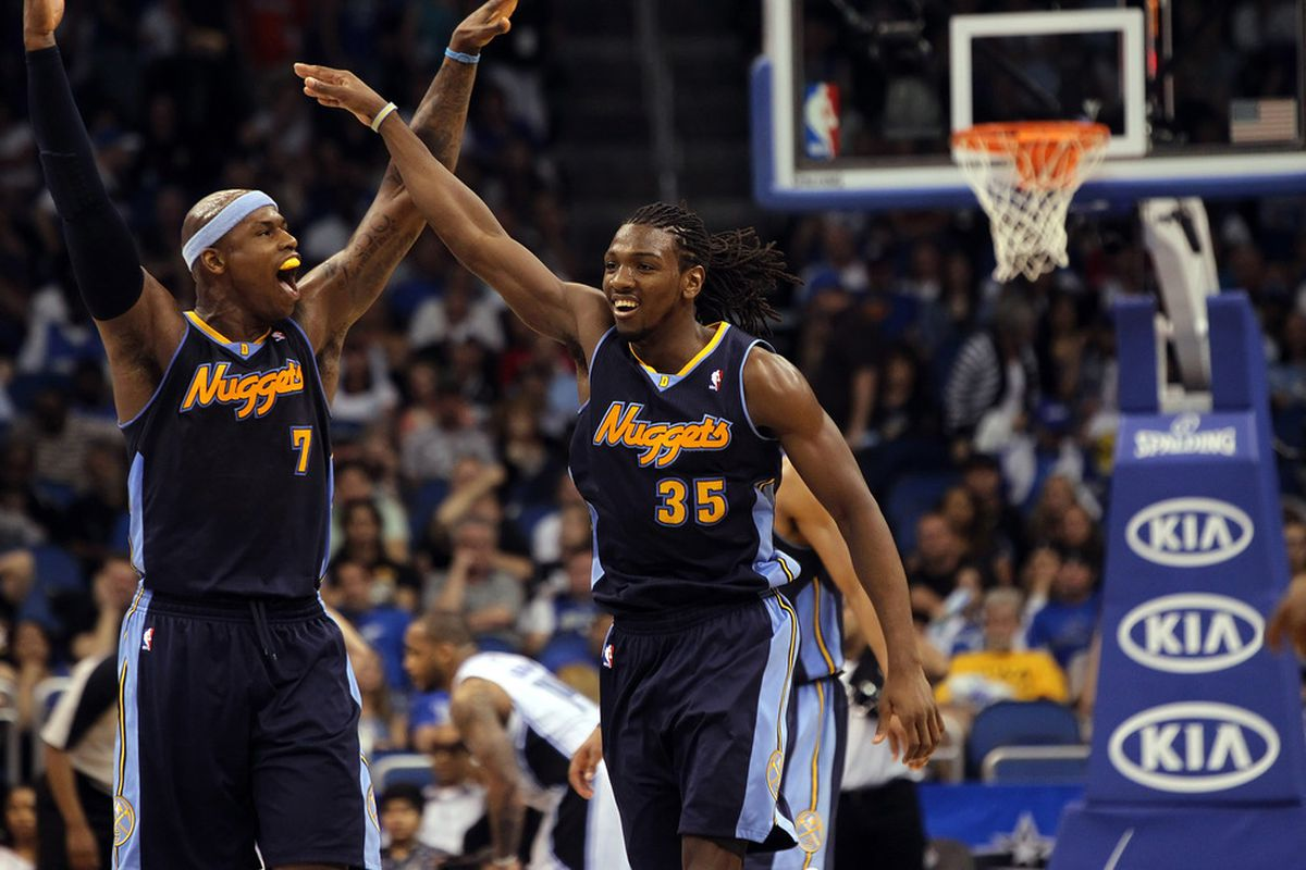 Will Al Harrington's role with the Nuggets this season lead him into coaching, at some point?