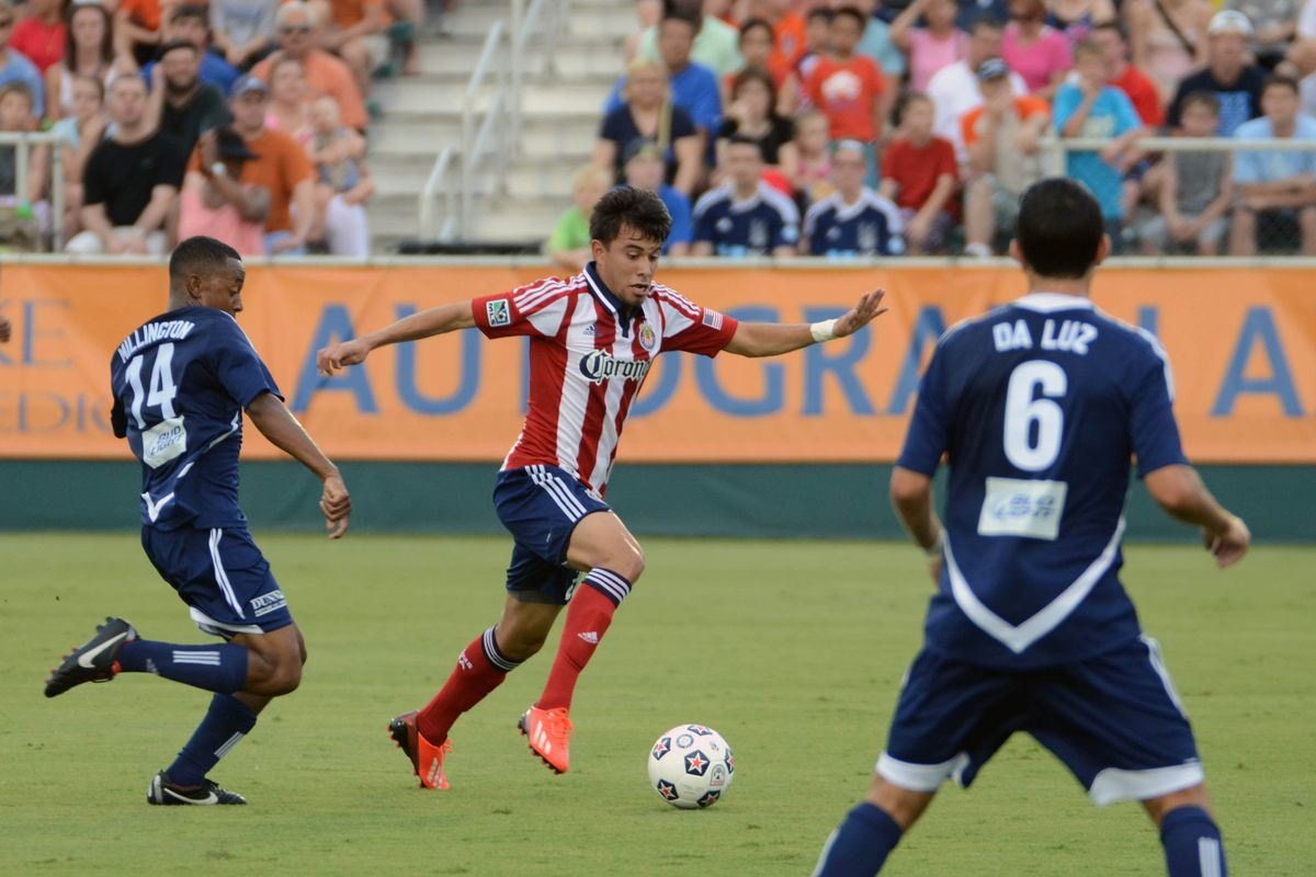 Last year when CUSA played the RailHawks, not the Goats' finest moment.