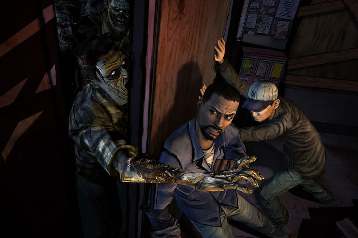 The Walking Dead players reporting issues with disc version