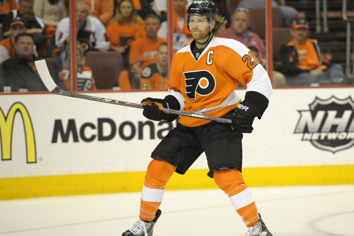 Flyers Captain Claude Giroux was drafted #22 overall by Philadelphia in 2006