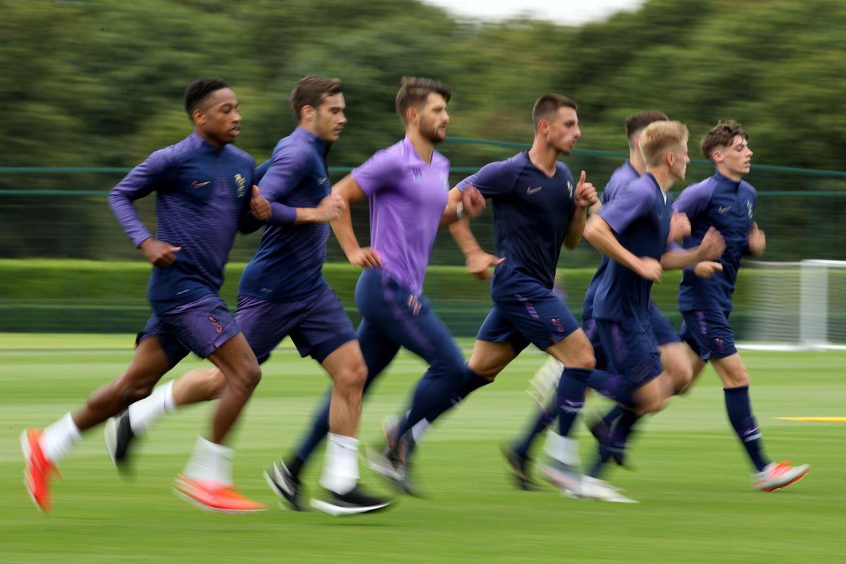 Totenham Hotspur Pre-Season Training Session