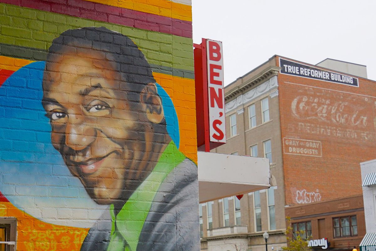 Ben s chili bowl s new mural what to expect curbed dc for Chuck brown mural