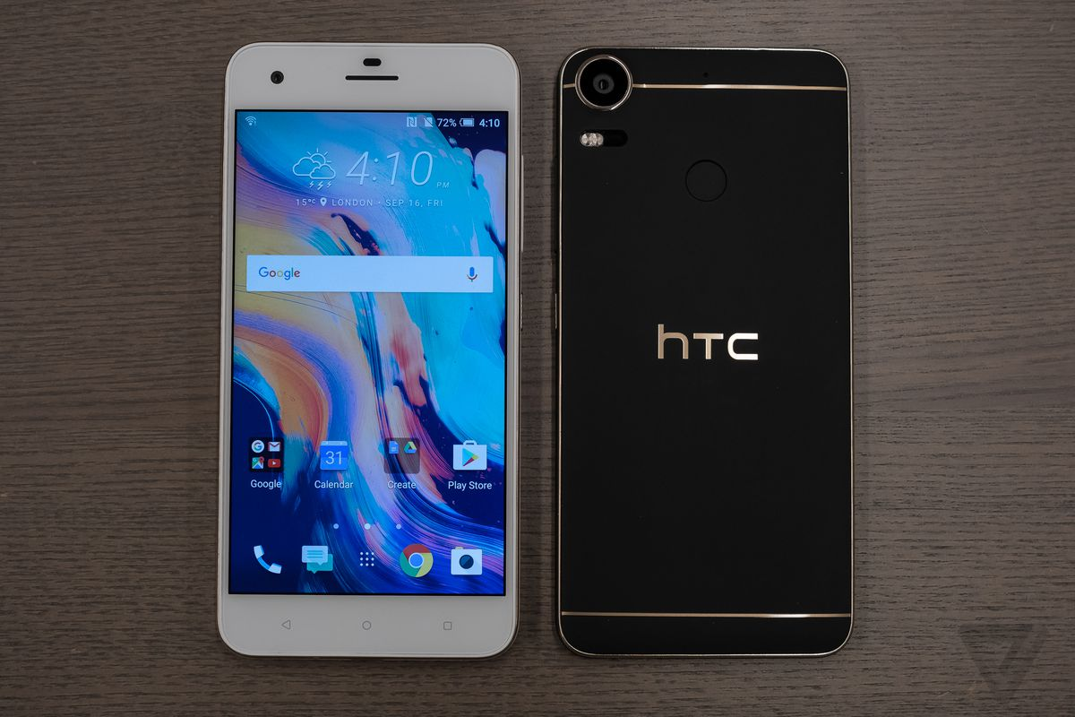 Htc Design | Htc S Desire 10 Is A Budget Phone In A Fancy Suit The Verge