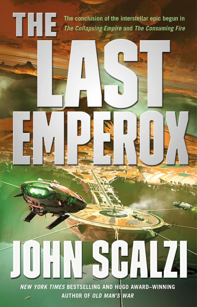 the last emperox by john scalzi has a space station