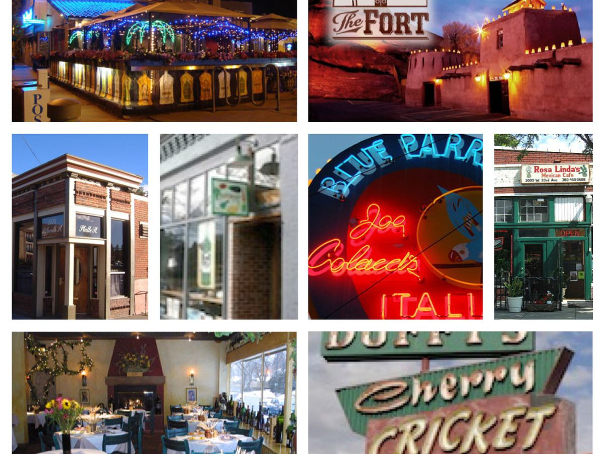 In Honor Of Clics Week These Are 25 Denver S Most Clic Restaurants Including Some Truly Old Specimens Ethic Gems And Still Very Hot