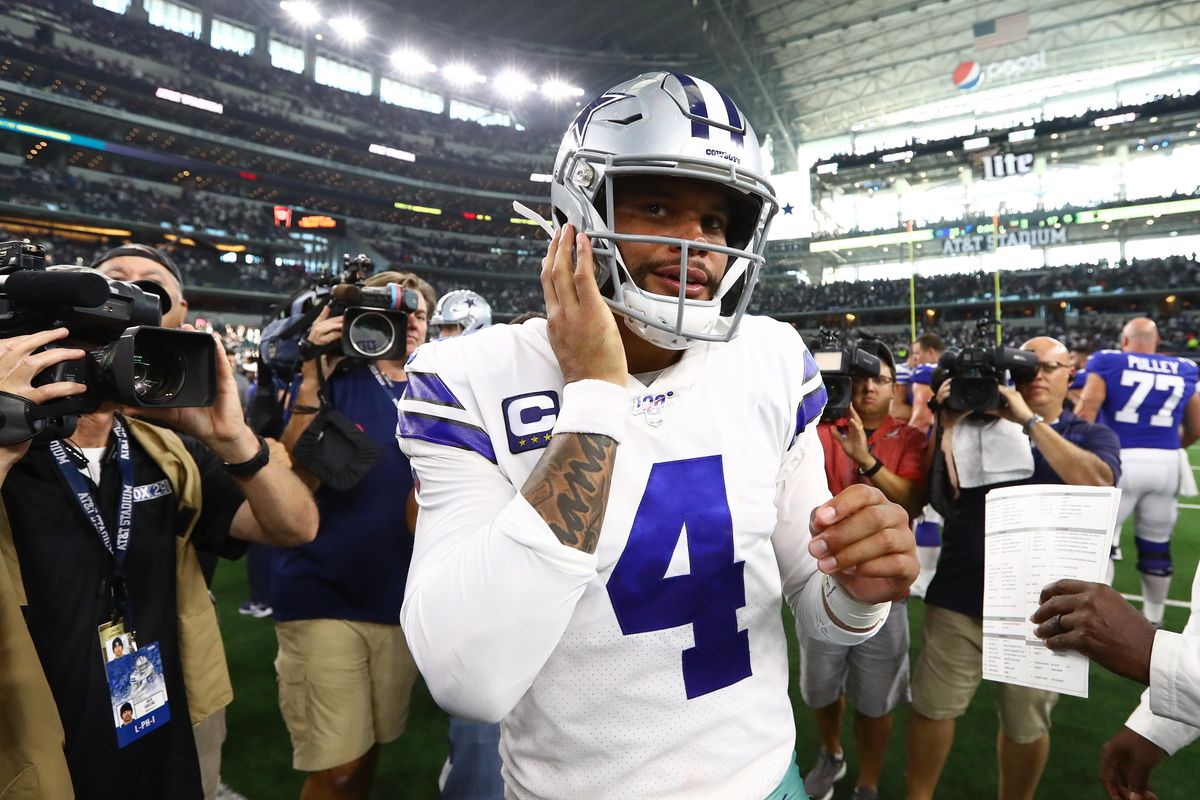 pretty nice 27ae4 efc8c Dak Prescott bet on himself, and the Cowboys are about to ...
