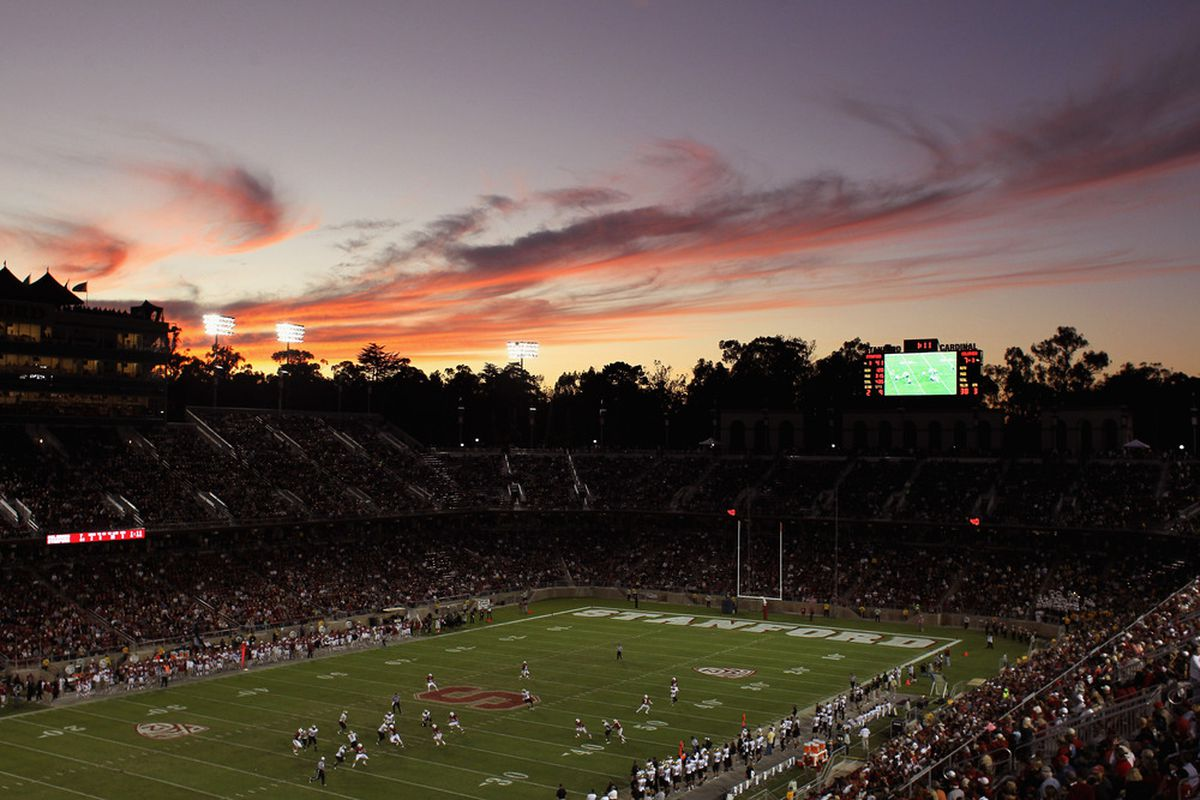 STANFORD, CA - OCTOBER 08:  A general view during the Stanford Cardinal game against the Colorado Buffaloes at Stanford Stadium on October 8, 2011 in Stanford, California.  (Photo by Ezra Shaw/Getty Images)