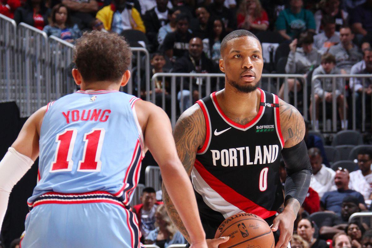 Portland Trail Blazers v Atlanta Hawks
