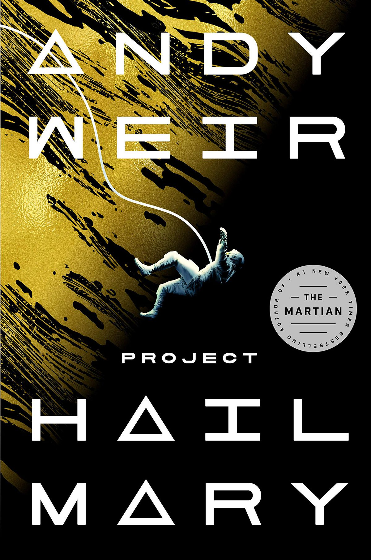 Project hail mary book cover