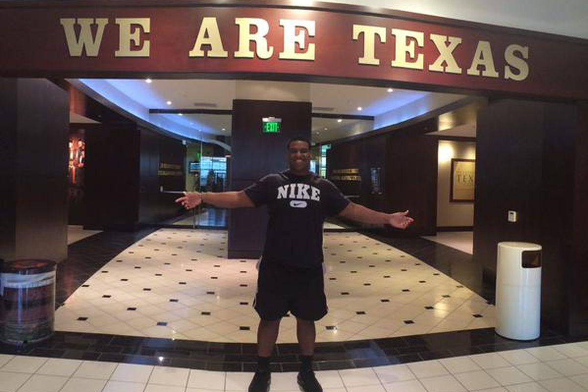 Gerald Wilbon at Texas