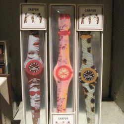 Chapon chocolate watches, $22