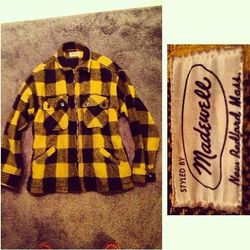 """Original Madewell shirt, via <a href=""""http://instagram.com/p/YOM1EqmRQe/"""">@drinksmall</a>"""