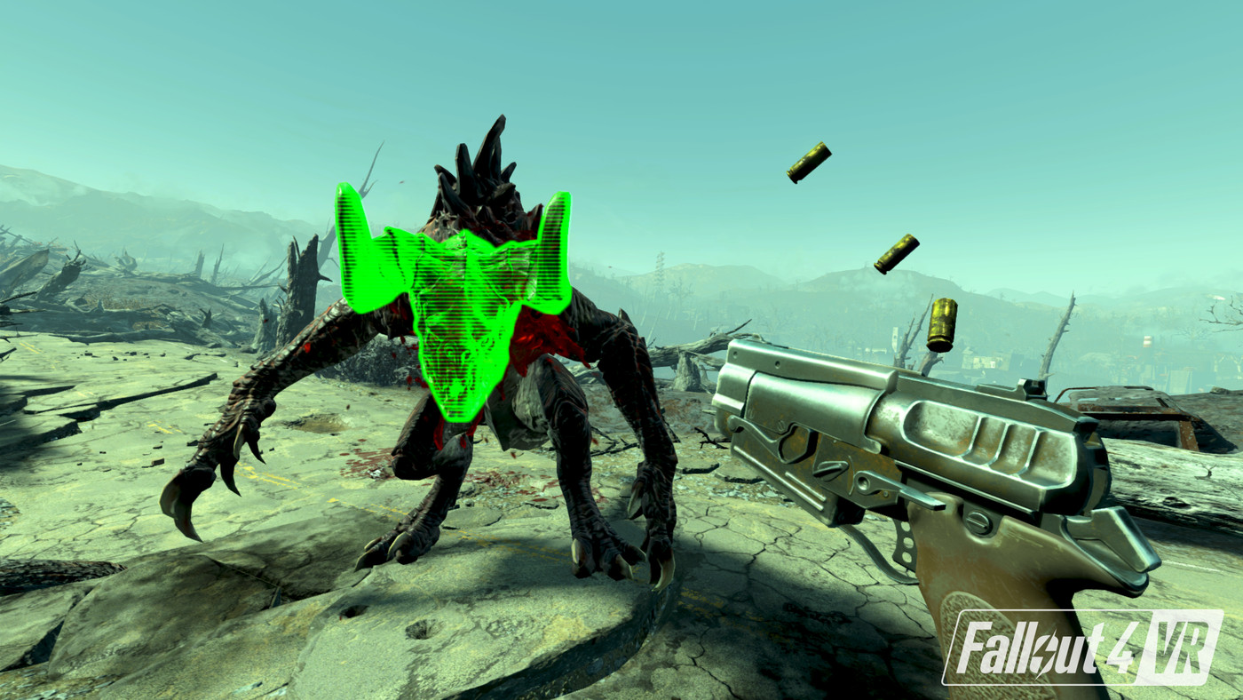 Fallout, Doom, and Skyrim show the limits of blockbuster games in VR