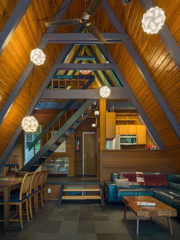 7 Cozy A Frame Ski Cabin Rentals In The Cascades Curbed