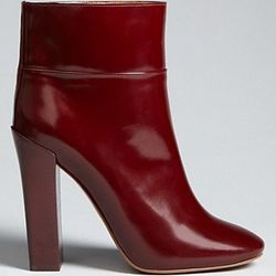 """<a href=""""http://www1.bloomingdales.com/shop/product/chloe-high-heel-booties-stacey?ID=630710&CategoryID=4843#fn=spp%3D90%26ppp%3D96%26sp%3D1%26rid%3D19"""">Chloé heeled bootied</a> at Bloomingdale's,  $397.50 (were $795)"""