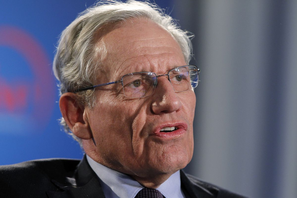 This June 11, 2012, file photo shows former Washington Post reporter Bob Woodward speaking during an event to commemorate the 40th anniversary of Watergate in Washington. Details are starting to come out from journalist Bob Woodward's forthcoming book on