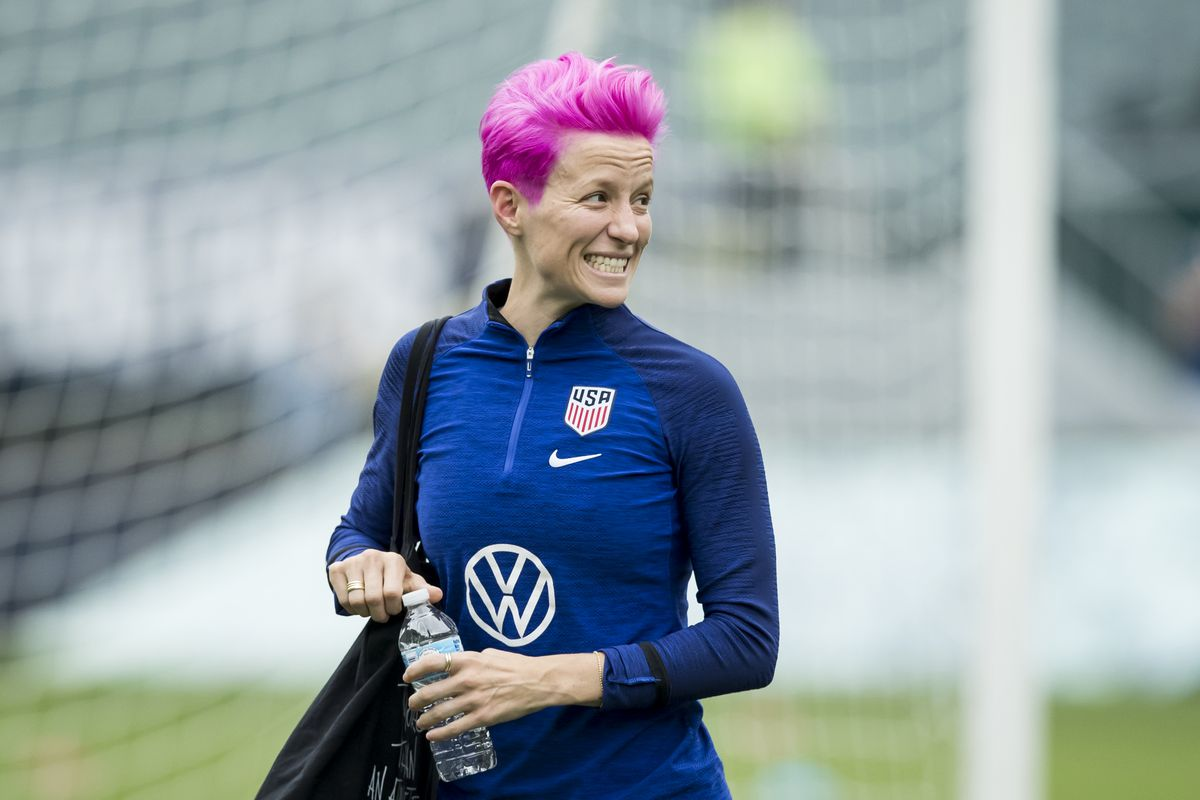 Megan Rapinoe open to move, says Barcelona 'is number one in my heart'