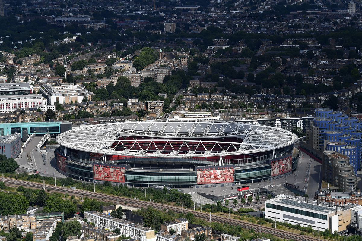 Aerial Views Of London