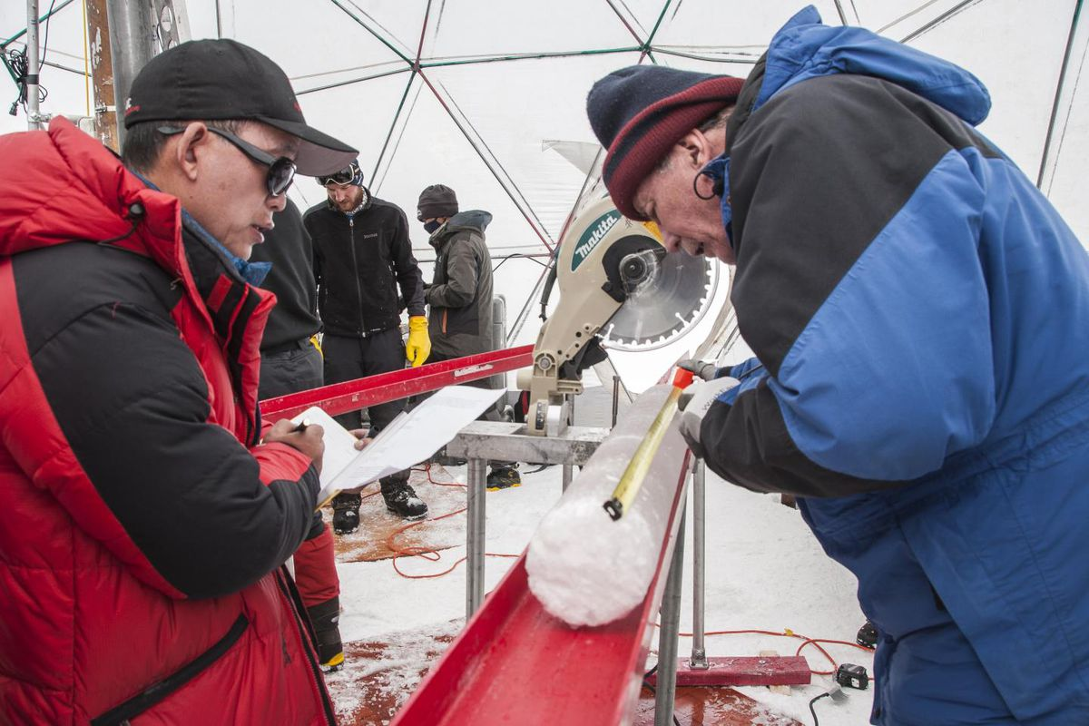 The ice held viruses nearly 15,000 years old, a new study has found.