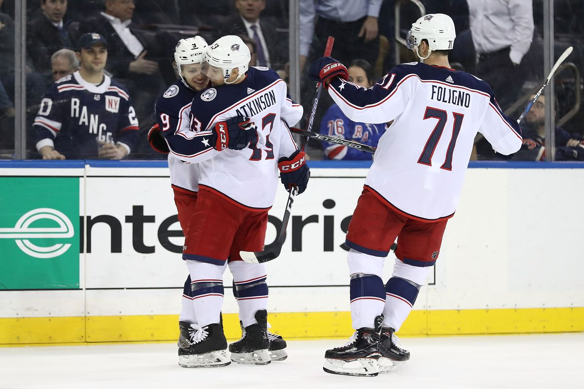 f2cb40f0d Game  17 Preview  New York Rangers at Columbus Blue Jackets - The Cannon