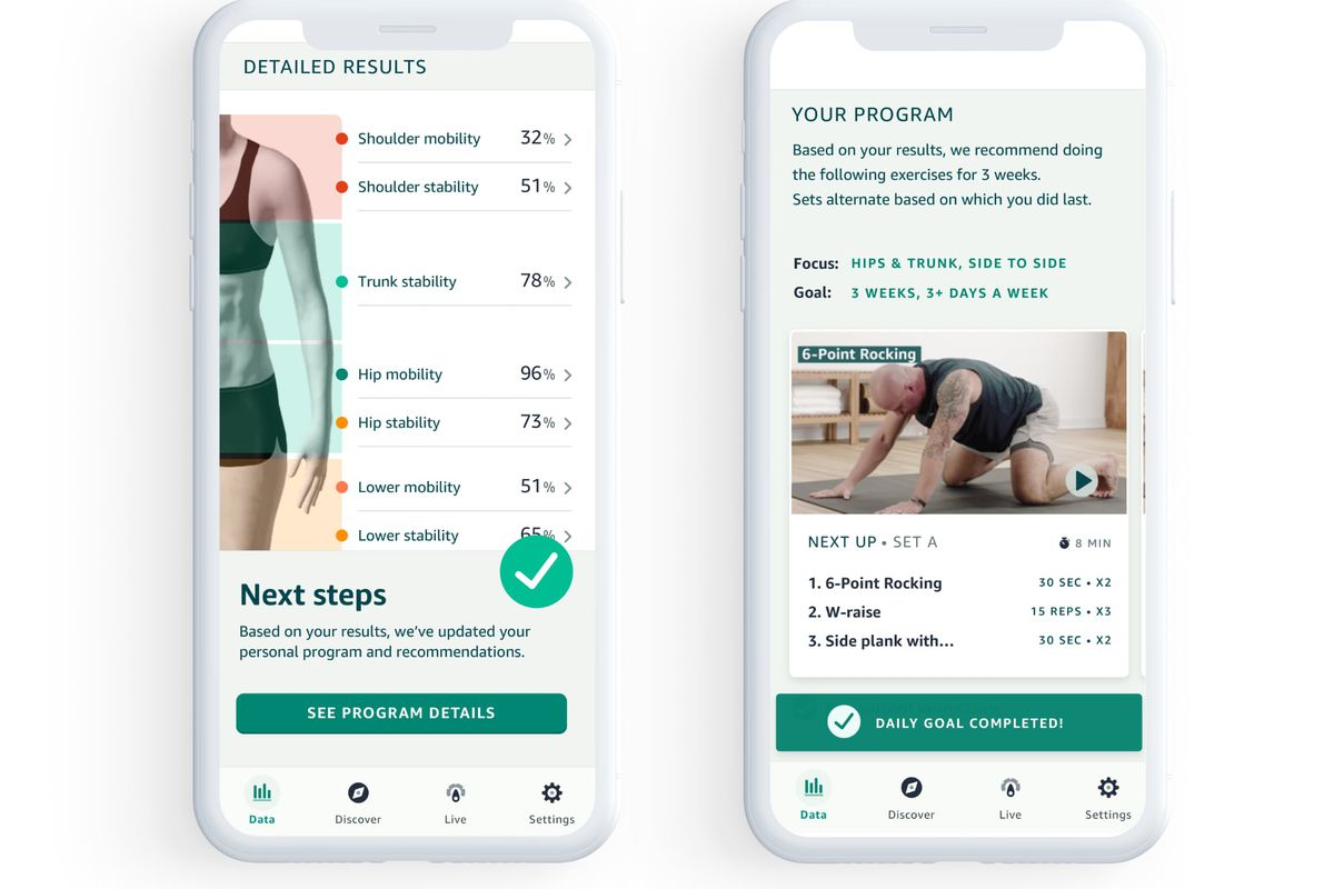 Amazon's new Movement Health feature in Halo