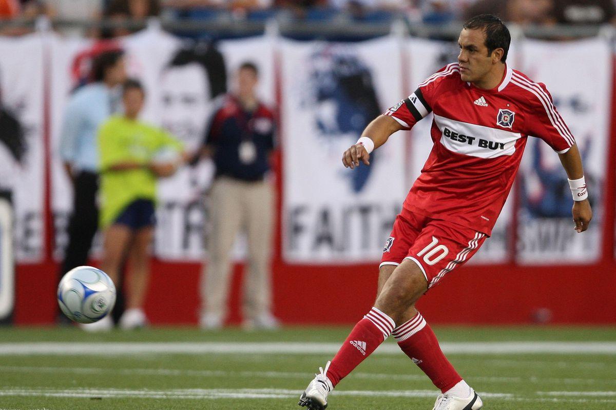 Soccer - MLS - Fire v Revolution