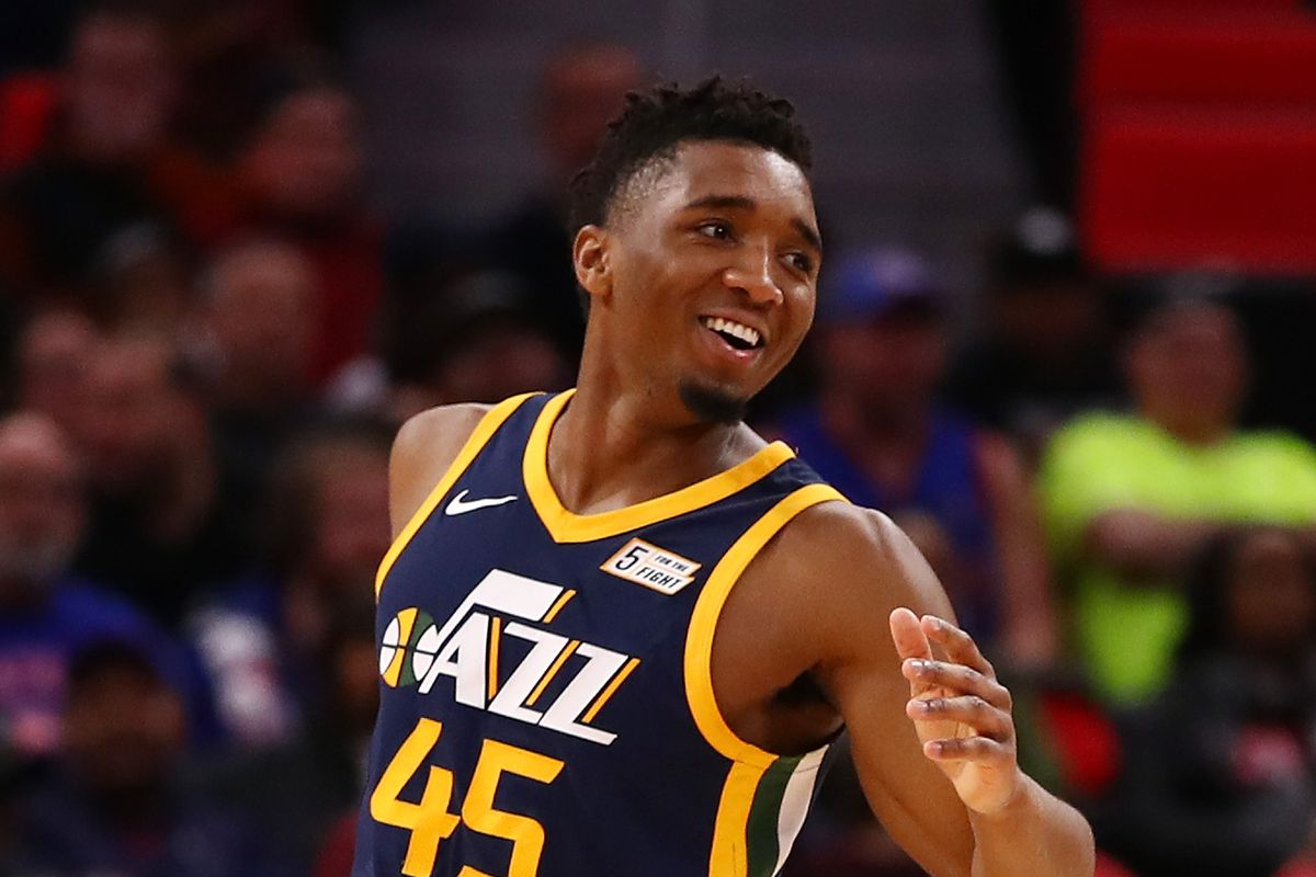 size 40 dd13d 37f87 Donovan Mitchell wants his 'best friend' in Utah - SLC Dunk