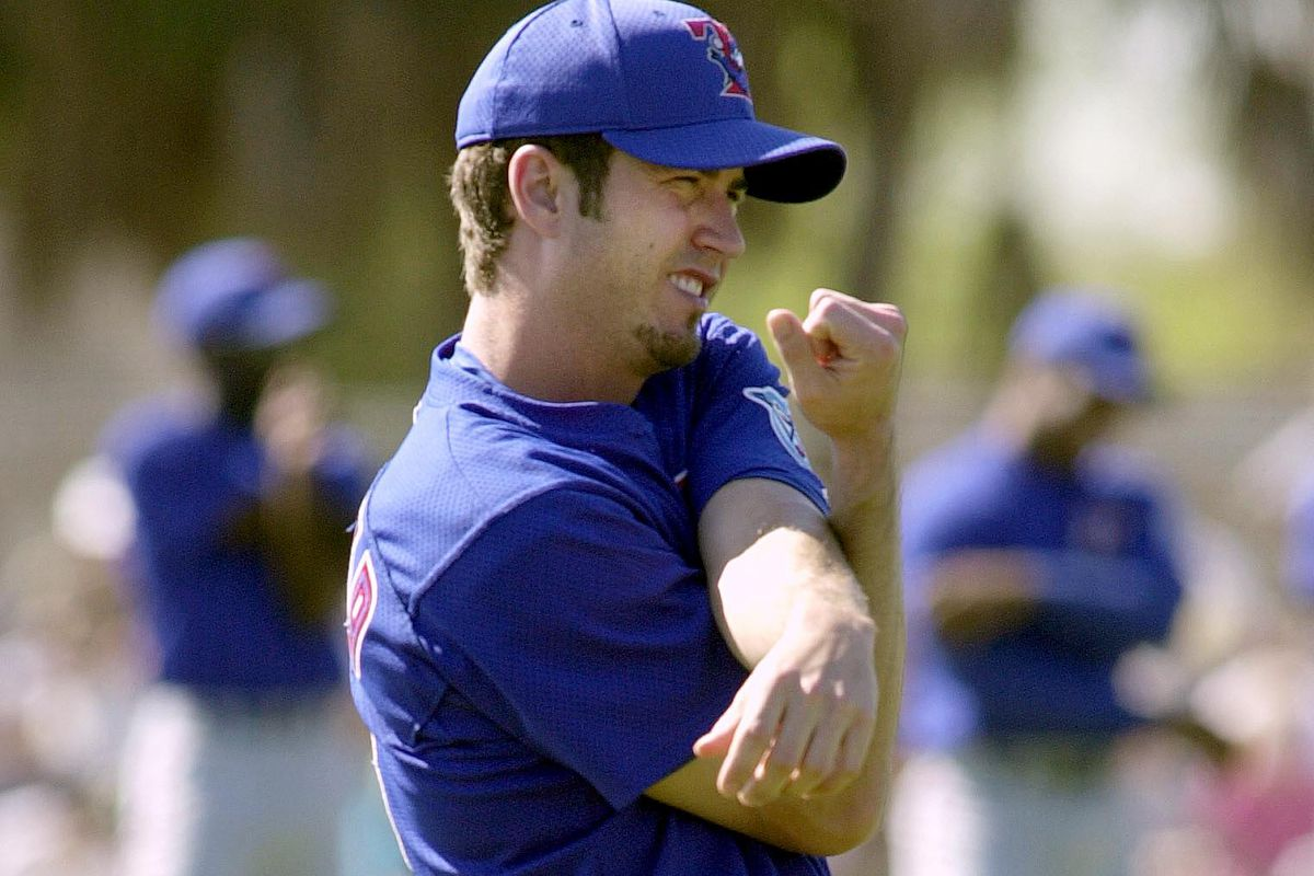 Toronto Blue Jays newly acquired pitcher Mike Siro