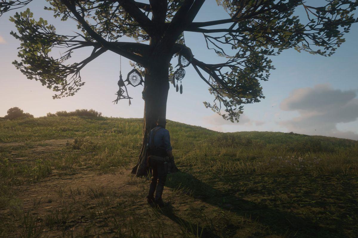 Red Dead Redemption 2 dreamcatchers guide tree