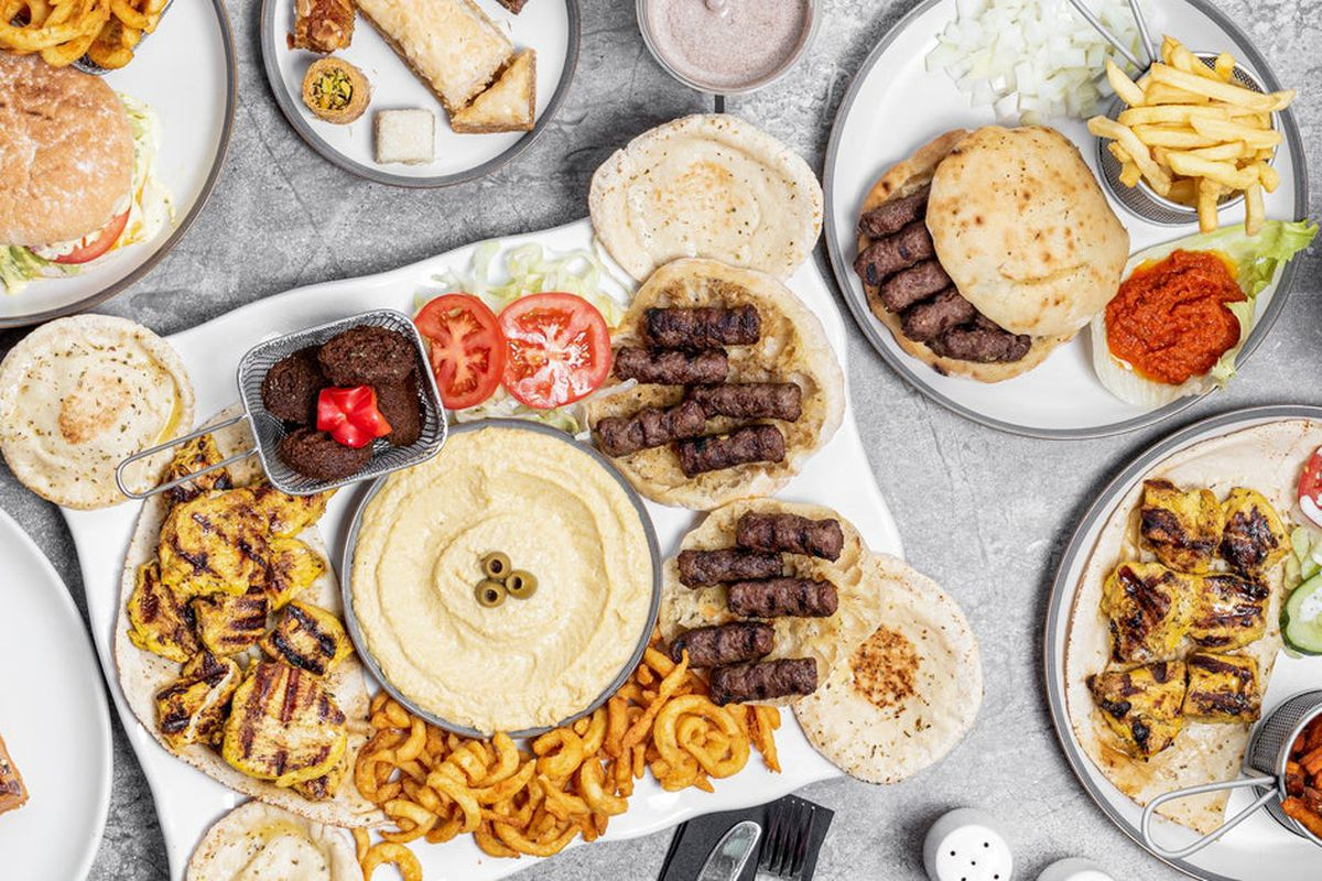 Cevapi at Chicken and Cevapi in Ealing