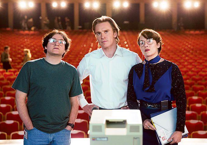 The cast of Steve Jobs
