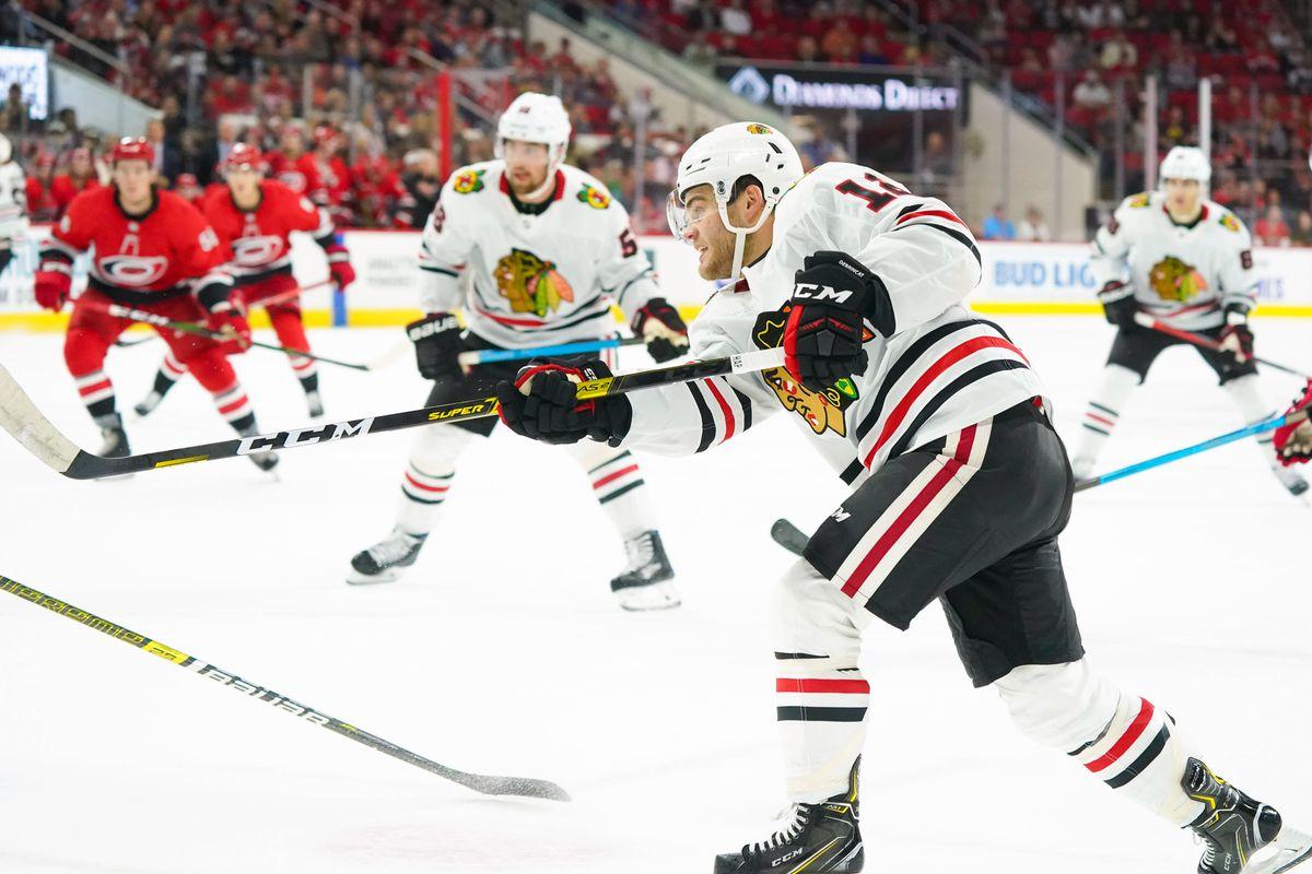 NHL: Chicago Blackhawks at Carolina Hurricanes